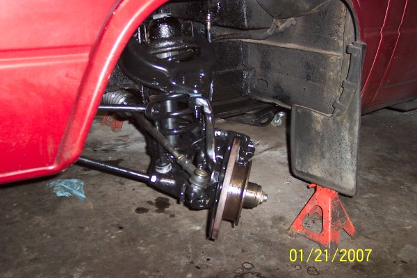 Vanagon Westy Suspension, Steering, Brake Overhaul