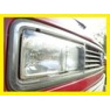 Vanagon square headlight protector set