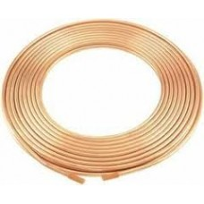 Copper flex line, 1/4, per ft.