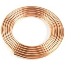 Copper flex line, 3/8, per ft.